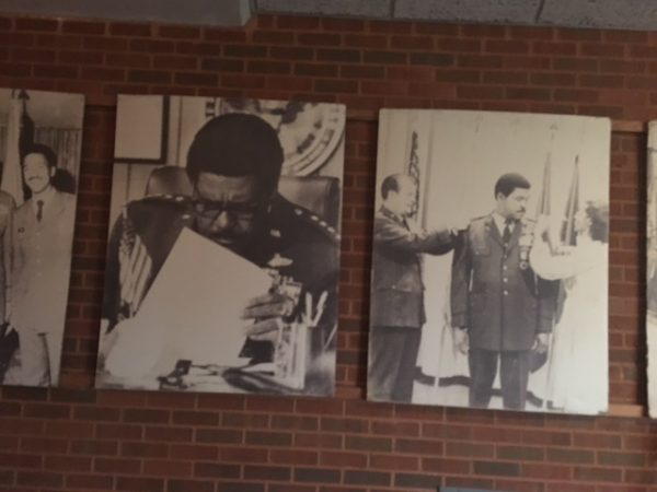 "Daniel ""Chappie"" James Jr. collection in the Aerospace Engineering Building, Tuskegee University."